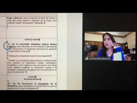 Subsecretaria de DDHH, Lorena Recabarren, se opone a prohibición absoluta de terapias reparativas