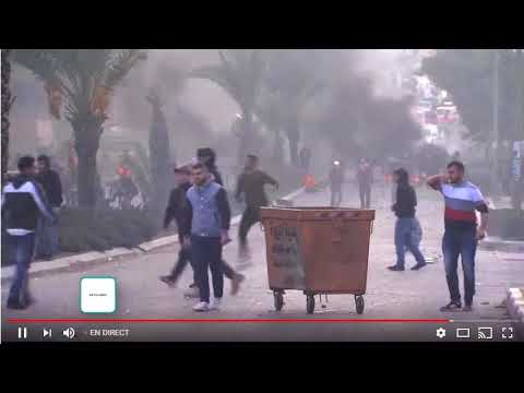 Clashes in West Bank 2017/12/07 ( Trump Jerusalem israel Palestine )