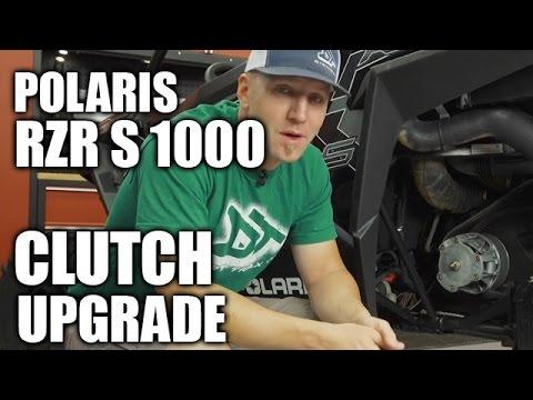 Polaris RZR S 1000 Clutch Mod