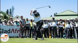 Watch President Ramaphosa Fires a Great shot