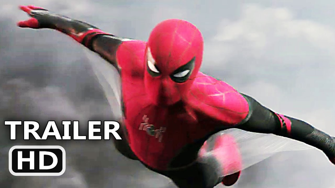SPIDER-MAN FAR FROM HOME Official Trailer (2019) Tom Holland Movie HD