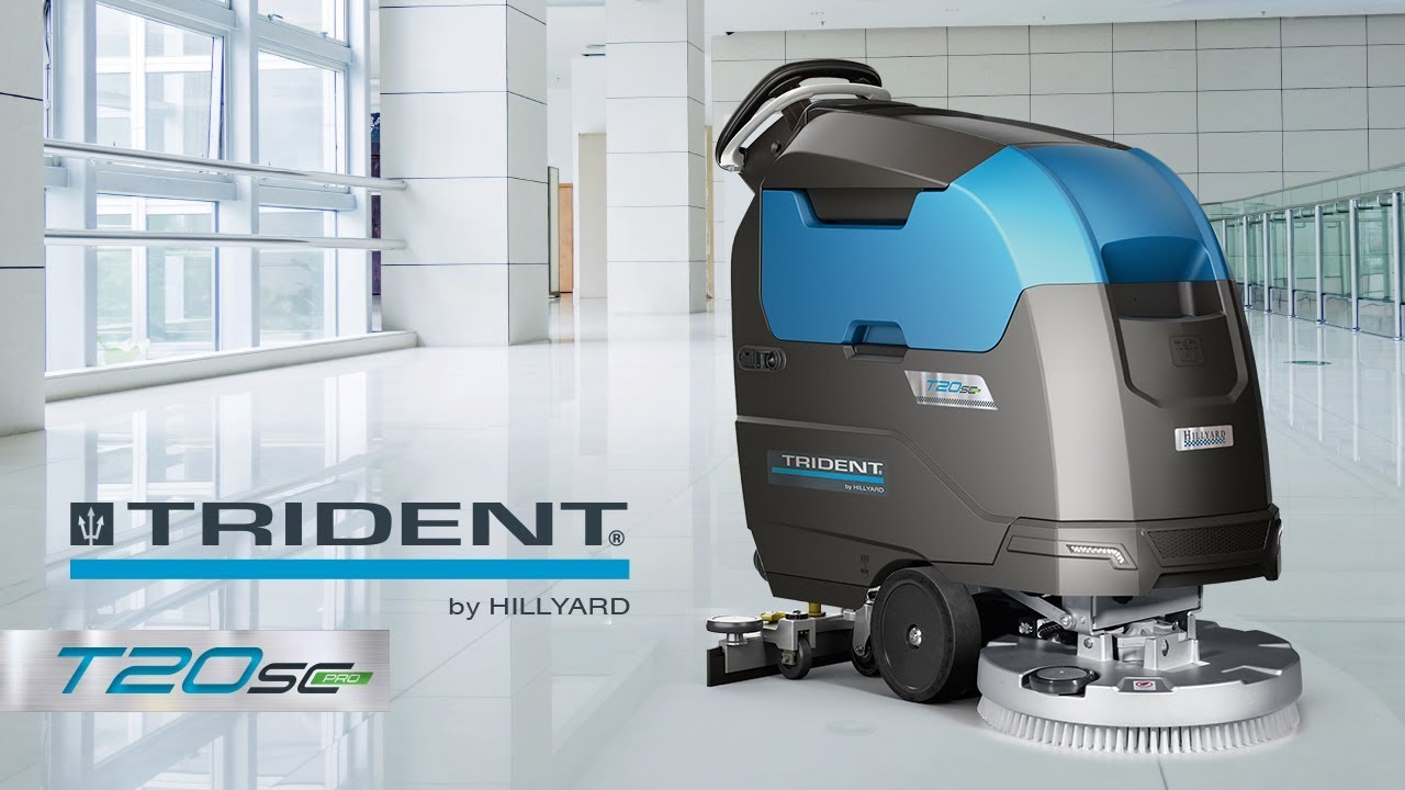 Hillyard C3 Restroom Cleaning : Trident t sc pro by hillyard youtube