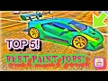 TOP 5 BEST PAINT JOBS OF THE NEW PAGASSI TEMPESTA PART 2! ( GTA 5 ONLINE )