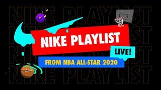 Sky Katz, Ben Simmons, Scottie Pippen & Josh Okogie at NBA All-Star 2020 LIVE | Nike PLAYlist | Nike