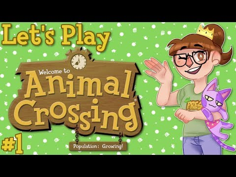 Animal Crossing Population Growing Stream Let's Play - Ep. 1
