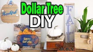 Dollar Tree DIY Wall Arts Signs ⚫ Fall Dollar Tree Room Decor 2019 ⚫