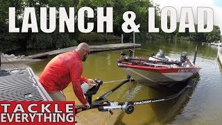 How To LAUNCH And LOAD Your Bass BOAT By YOURSELF