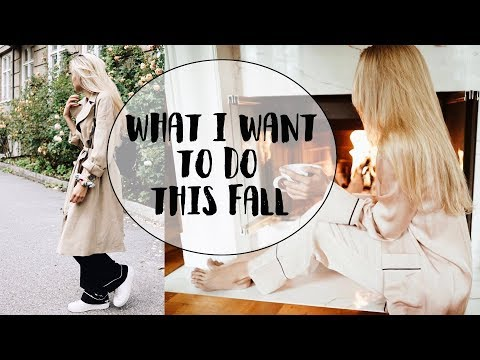What I Want To Do This Fall | Cornelia