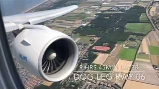 RAW POWER! KLM BOEING 777 200ER Takeoff & Landing LAX to AMS w/ ATC