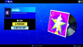 *NEW* GET FUNKY MUSIC PACK [Press Play And Bring The Funk!] Fortnite Item Shop Today.