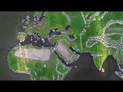 Postcard Of World Map At Lake Klejtrup (Spotteru.com)