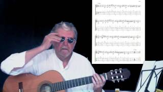 2013-04-17 Guitar Lessons Greensleeves Traditional