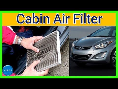 How to Replace Cabin Air Filter – Hyundai Elantra (2011-2016)
