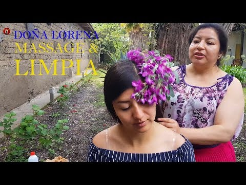 DOÑA LORENA - ASMR LIMPIA & MASSAGE, SPIRITUAL CLEANSING, CUENCA, pembersihan spiritual, Albularyo