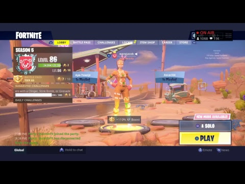 average console player season 5 gameplay fortnite battle royale - how long is the average fortnite game
