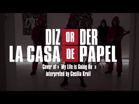 La Casa de Papel - My Life Is Going On | Metal Cover By DIZORDER