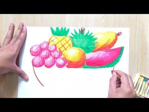Lukisan Buah Buahan Tempatan Dengan Oil Pastel Krayon Ppt Dan Pat Tahap 1 2 Pendidikan Seni Visual Youtube