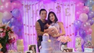 Vợ chồng Lam Trường hạnh phúc tổ chức tiệc đầy tháng cho con gái - Tin Tức Sao Việt