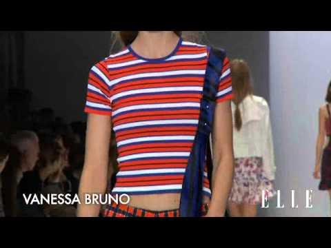 Vanessa Bruno Fashion Week primavera verano 2014.   Elle España
