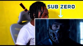 !Finally Get To See Sub-Zero On Big Screen! | MORTAL KOMBAT(2021) Official Trailer REACTION!