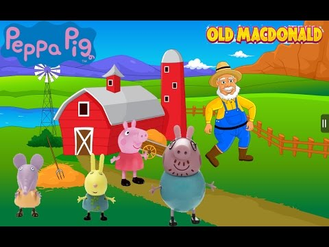 Peppa Pig, Old macdonald song, Свинка Пеппа новые серии, детские песни, kids song, song for kids from YouTube · Duration:  2 minutes 25 seconds