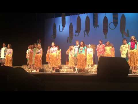 Pendleton Heights High School : Pendletones 2016 - Singsation (Hawaiian Roller Coaster Ride)