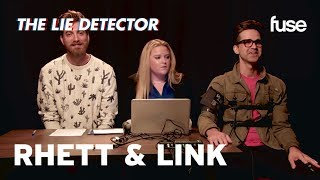 Rhett & Link Take A Lie Detector Test | Fuse