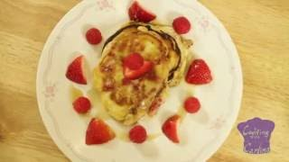 STRAWBERRY/RASPBERRY PANCAKES IN LESS THAN 4 MINUTES! PLUS I HAVE AN ANNOUNCEMENT!