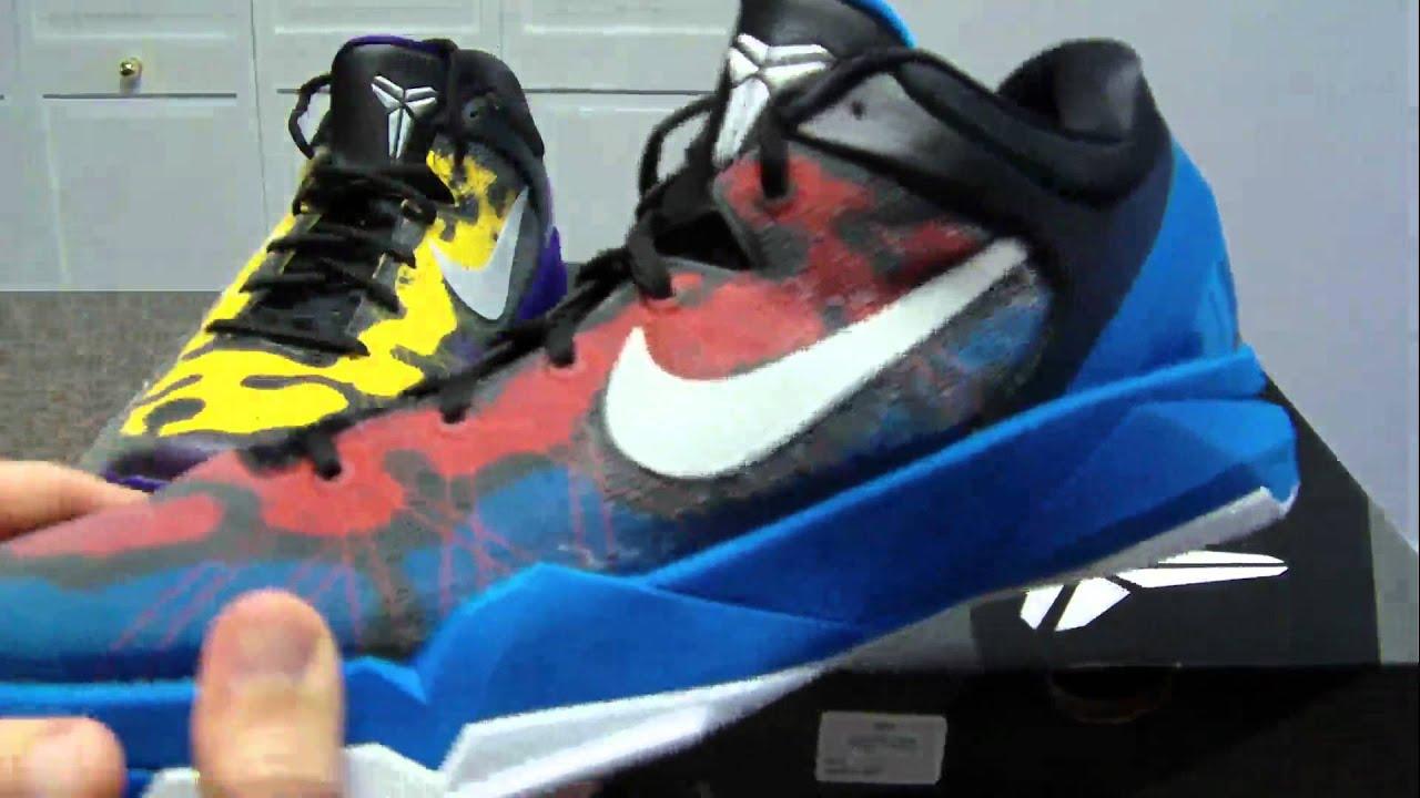 e5d76e3cf5c2 Nike Kobe 7 System Poison Dart Frog Review - YouTube