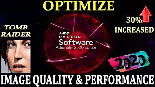 oPTIMIZE AMD RADEON SETTINGS ADRENALIN 2020 EDITION FOR BEST GRAPHICS AND PERFORMANCE