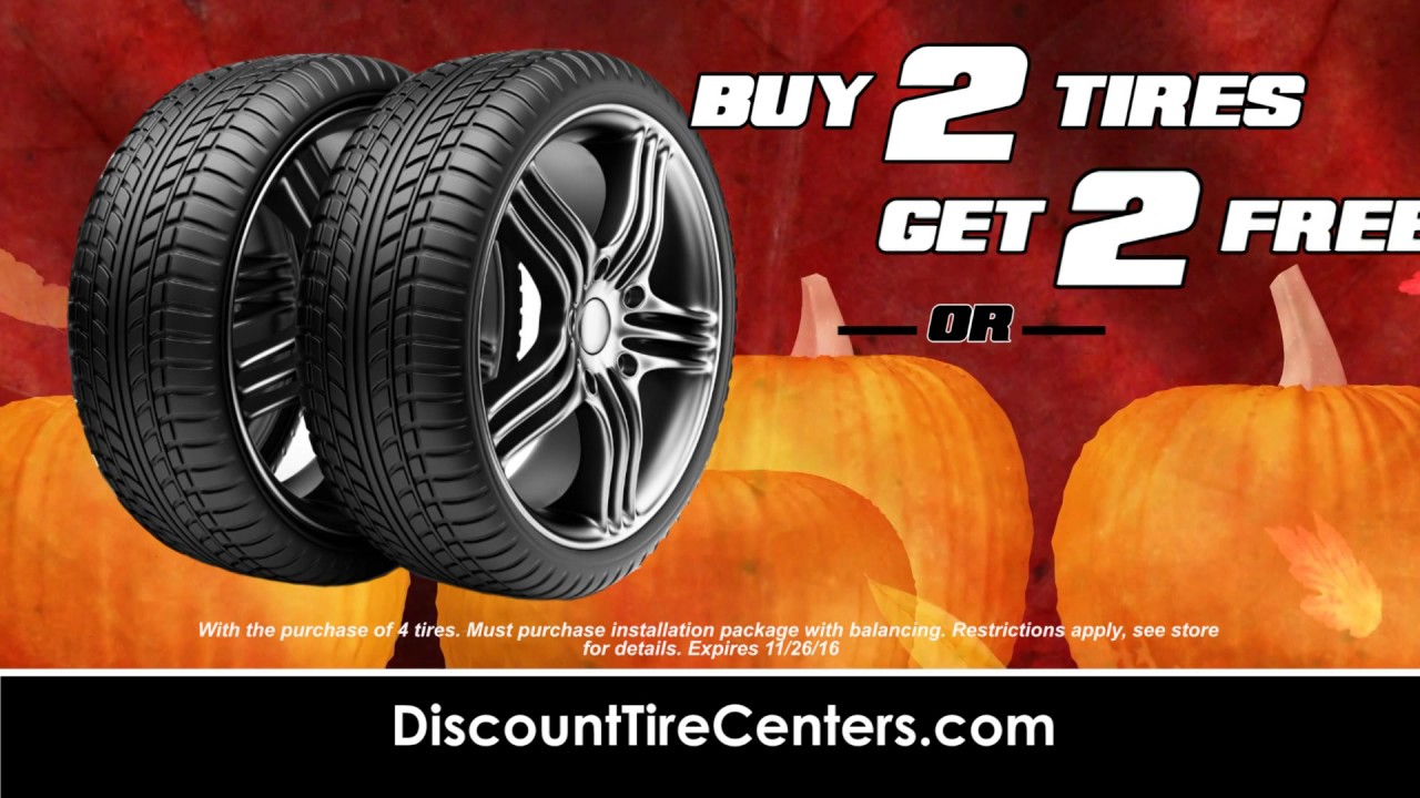Discount Tire Centers Black Friday Savings Youtube