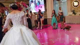 Супер поздравление от племянников  до слез.свадебный вечер Амины