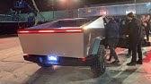 Tesla CyberTruck Test Ride