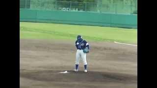 vs富山サンダーバーズ前期11回戦(県営富山野球場) ネット裏からの動画...