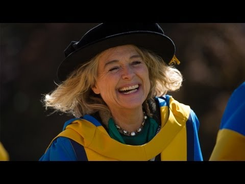 Irish theatre, television and film actress, Sinead Cusack honoured by University College Dublin