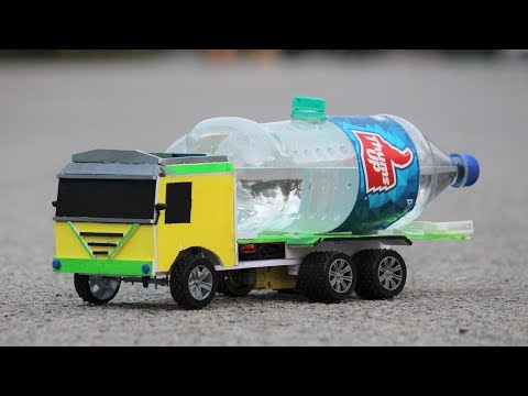 How To Make a Truck - Water Supply Truck at home