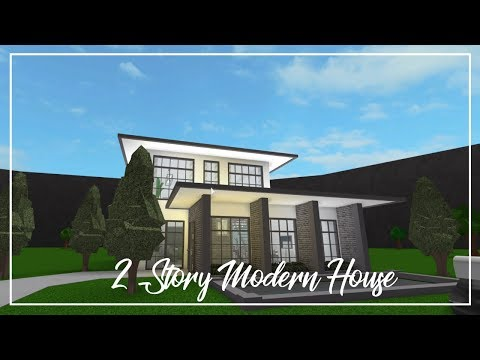 ROBLOX | Welcome to Bloxburg: Two Story Modern House