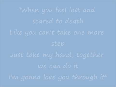 I'm Gonna Love You Through It Lyrics - Martina McBride