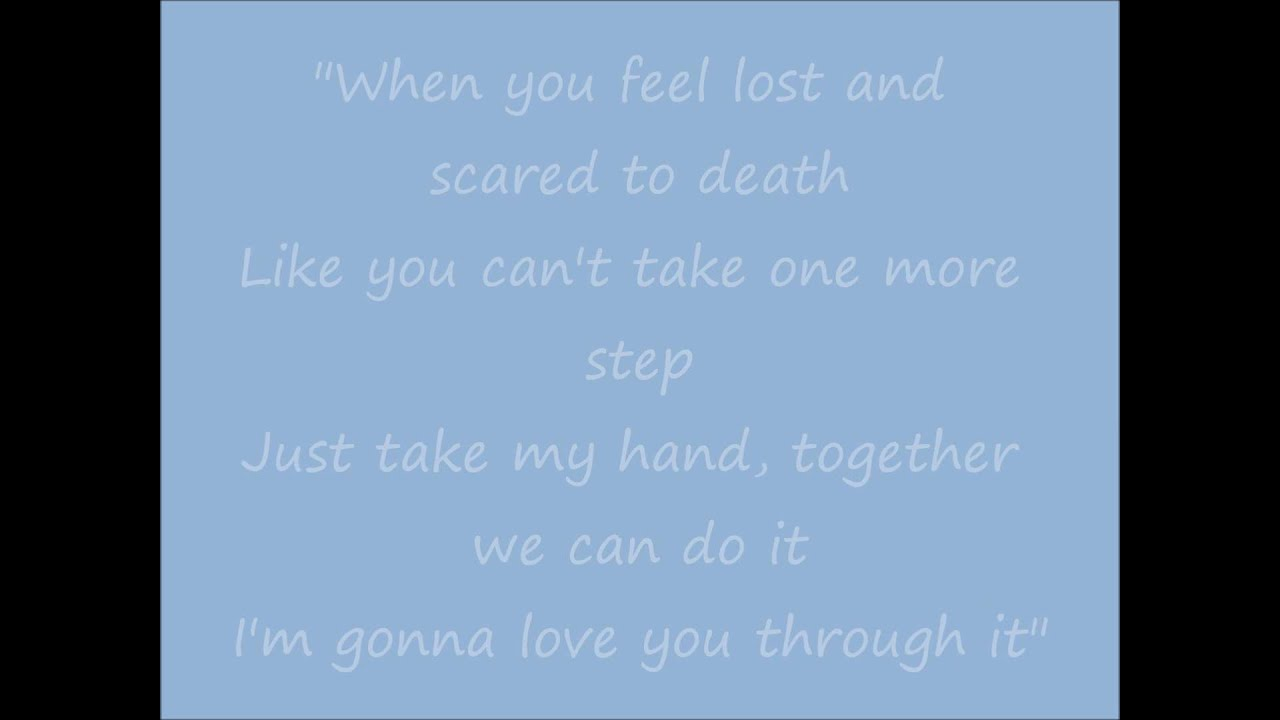 When you love me martina mcbride lyrics