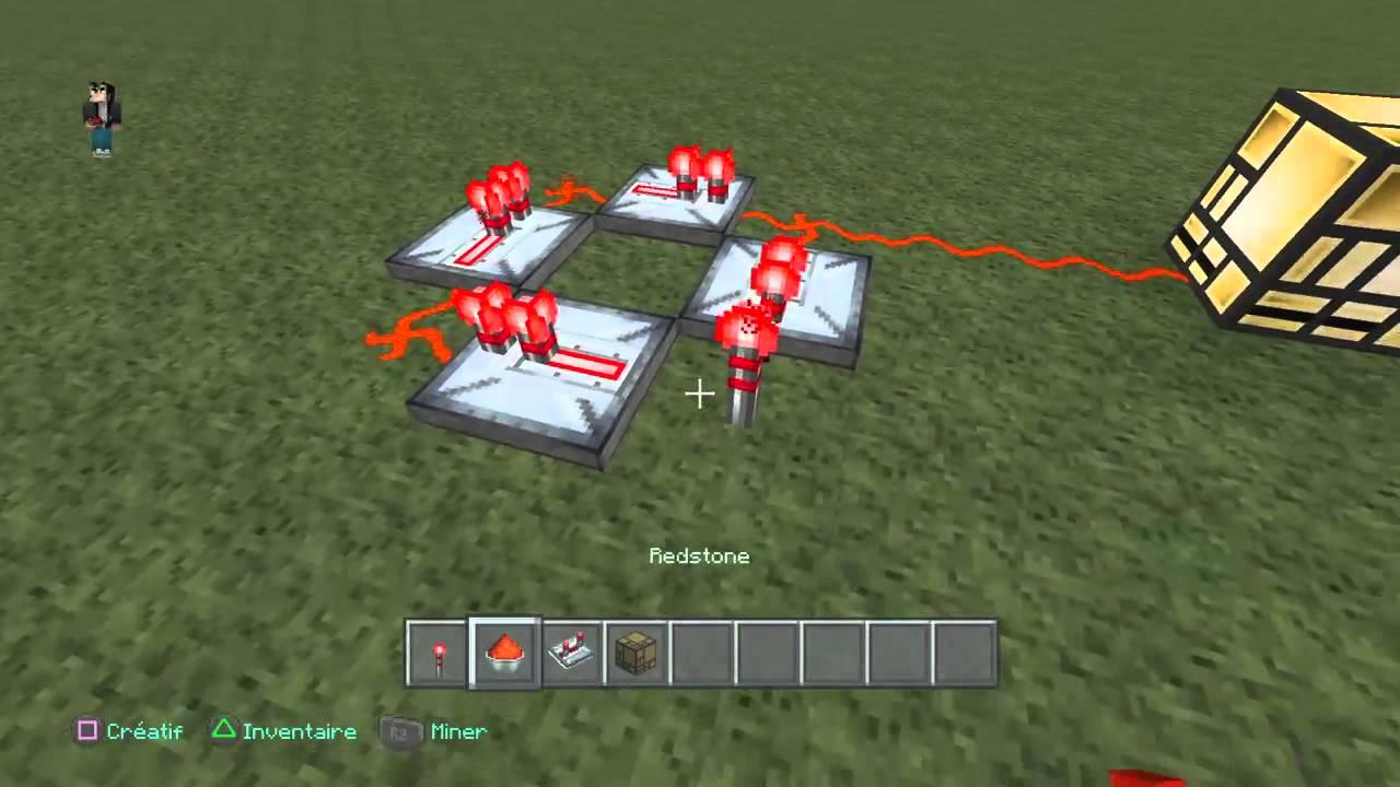 Minecraft Comment Faire Clignoter Une Lampe De Redstone