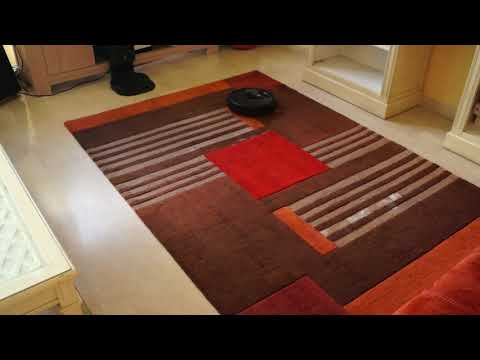 Roomba i7+ : Test sur moquette / Review on carpet