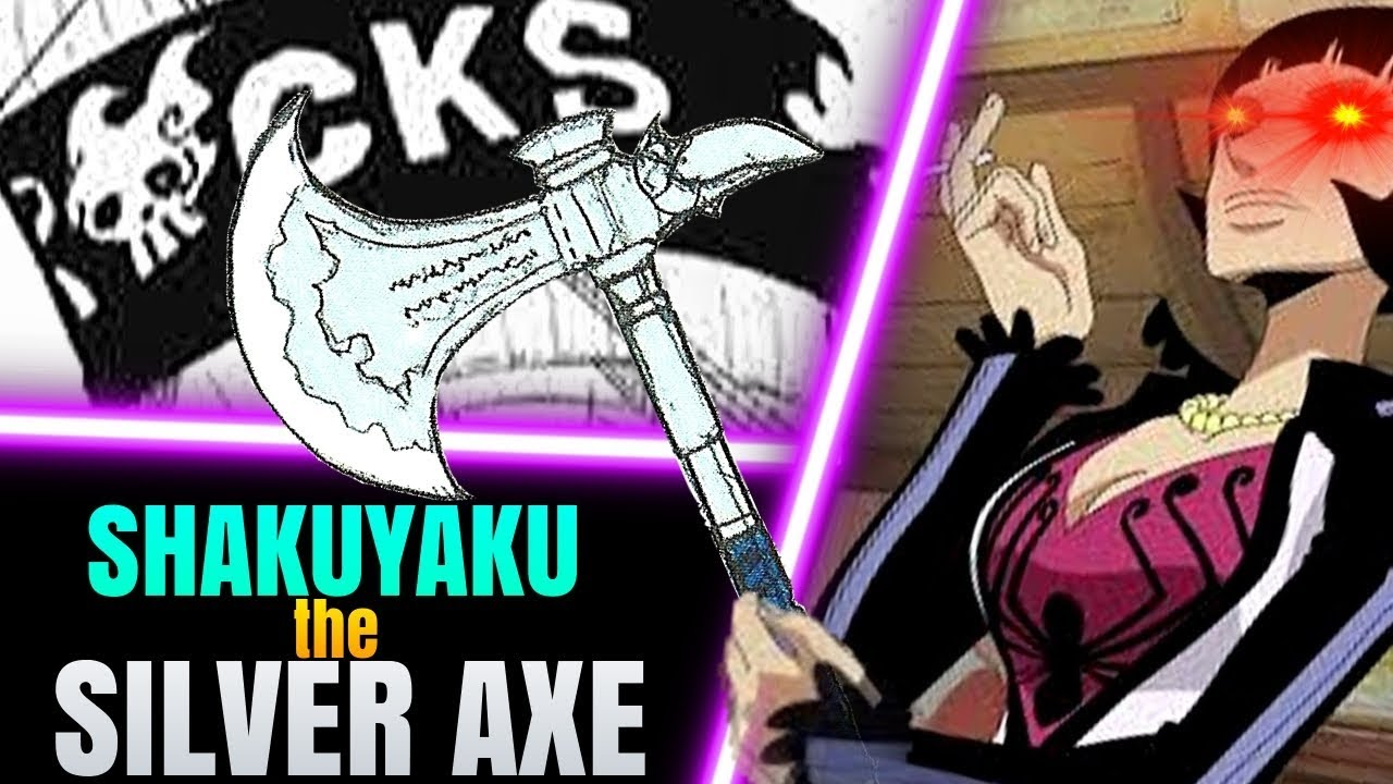 Could SHAKUYAKU be the SILVER AXE of the ROCKS Pirates ...