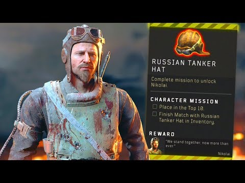 Blackout: How to UNLOCK Nikolai! (Tanker Hat Location)