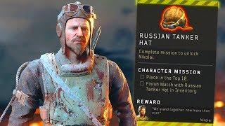 Blackout How to UNLOCK Nikolai Tanker Hat Location