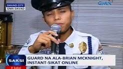Saksi: Guard na ala-Brian McKnight at gurong mala-Whitney Houston ang birit, instant sikat online