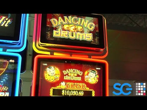 Dancing Drums Slot Machine From Scientific Games Youtube