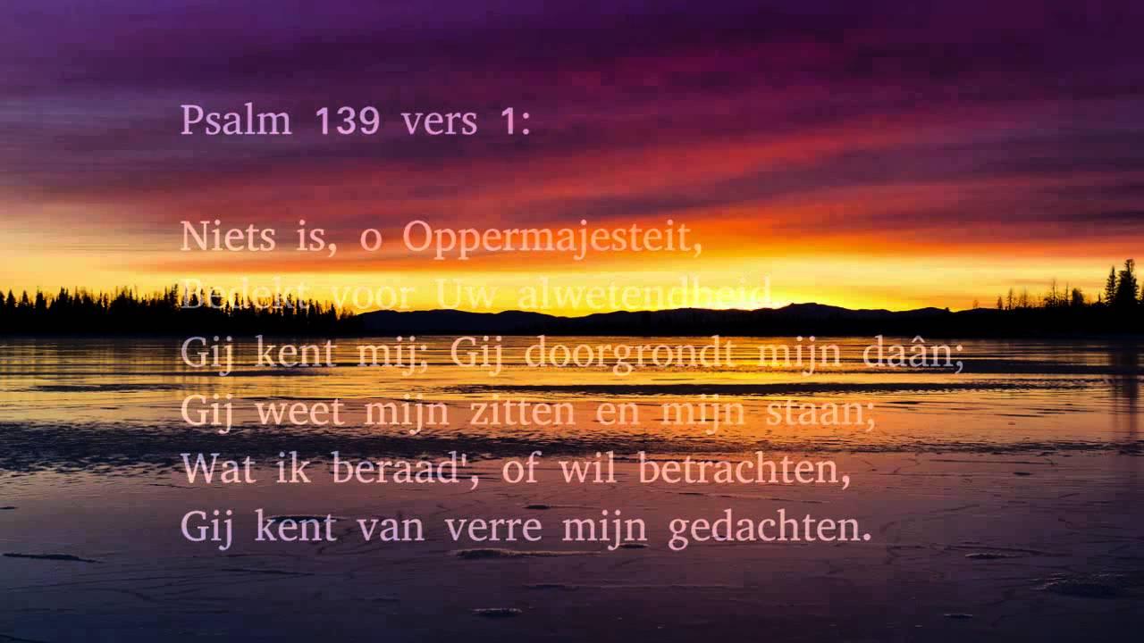 Psalm 139 Vers 5