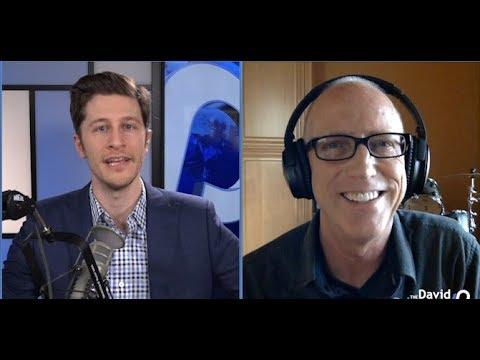 Dilbert's Scott Adams Debates Mexico Wall with David