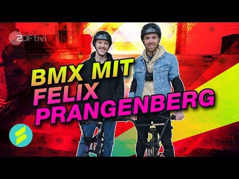"Die Sportmacher - BMX mit Deutschlands besten ""Street"" BMX-Fahrer Felix-Prangenberg   ZDFtivi"