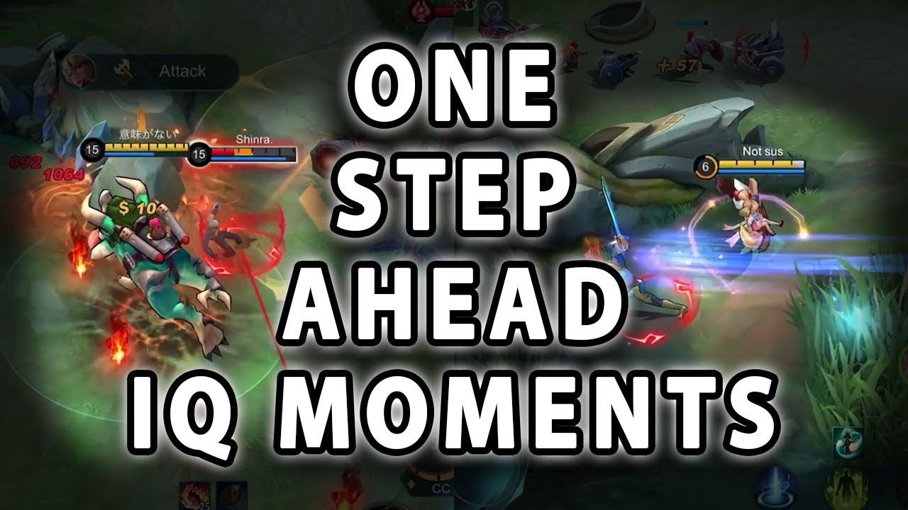 ONE STEP AHEAD IQ MOMENTS | Mobile Legends
